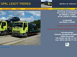 LESOT FRERES SPRL website