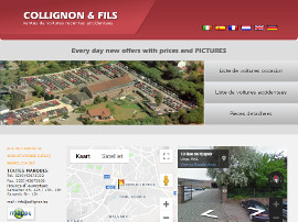 Collignon & Fils website