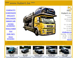 HUBERT nv website