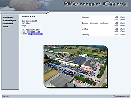 WEMAR CARS website