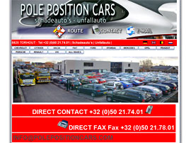 POLE POSITION CARS website