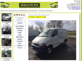 AUTOHANDEL WALLYN NV website