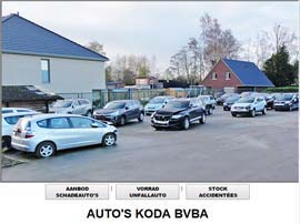 AUTO'S KODA BVBA website