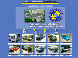 AUTOS DEKNUDT SA website
