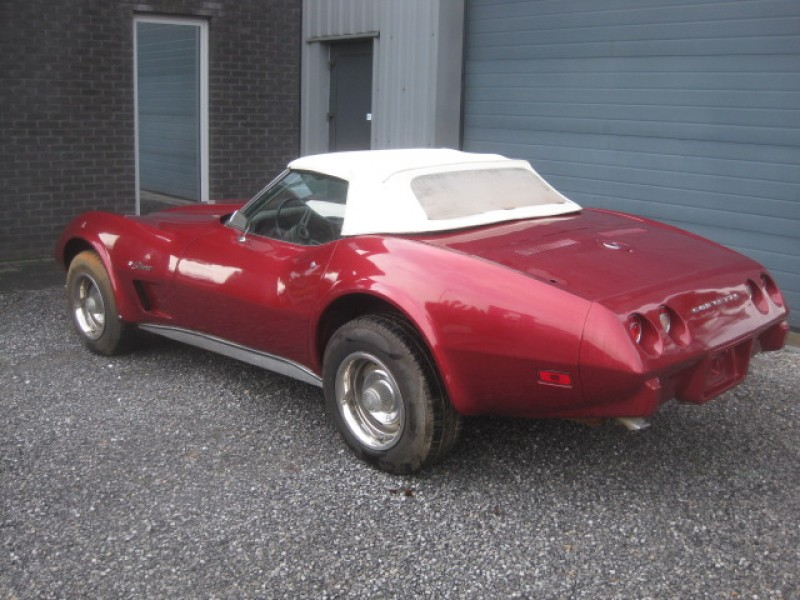 CHEVROLET - CORVETTE STINGRAY 5.7 CABRIO - 1975